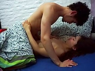 Spectacular young couple sex making it sweet