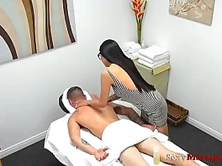 Innocent Young Thai Masseuse Fucks for Money