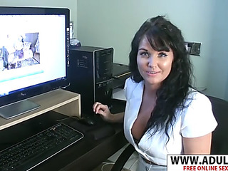 Charm step mama leah wishes to fuck priceless her stepson