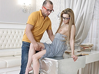 Sonya Sweet Yan in Nerdy Sex Dream - DirtyFlix