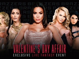 Brazzers LIVE: Valentines Day Affair Free Video With Phoenix Marie - BRAZZERS
