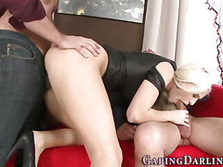 Slutty ass blonde drilled
