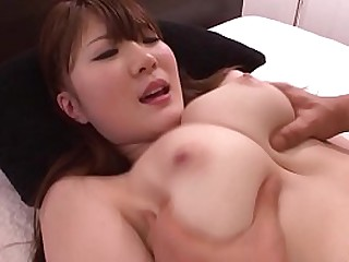 JAV legendary Momoka Nishina hardcore sex in missionary followed by cowgirl showing off amazing natural big breasts in HD with English subtitles