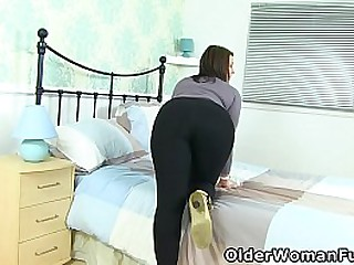 Well rounded milf Raven from the UK strips off and finger fucks her wet fanny. Now available in Full HD 1080P. Bonus video: Scottish milf Toni Lace.