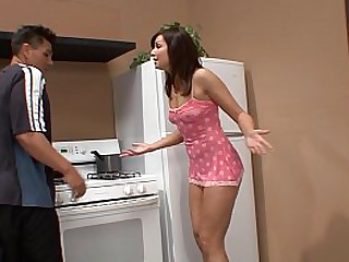 Tiny Teen Fucked In Kitchen